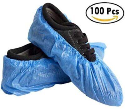 cobre pés descartáveis