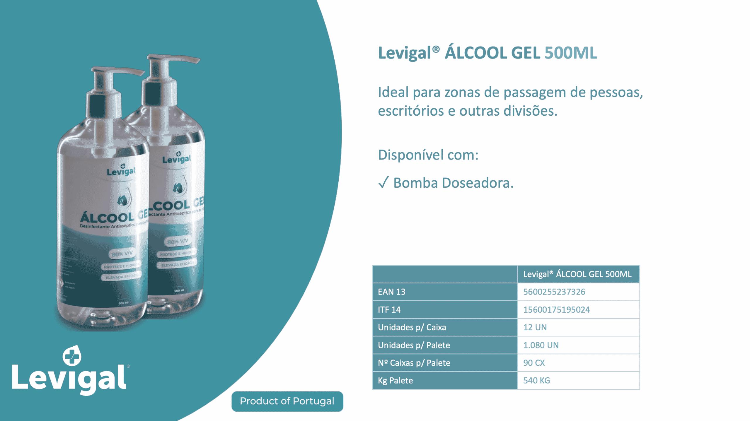 alcool gel 500 ml