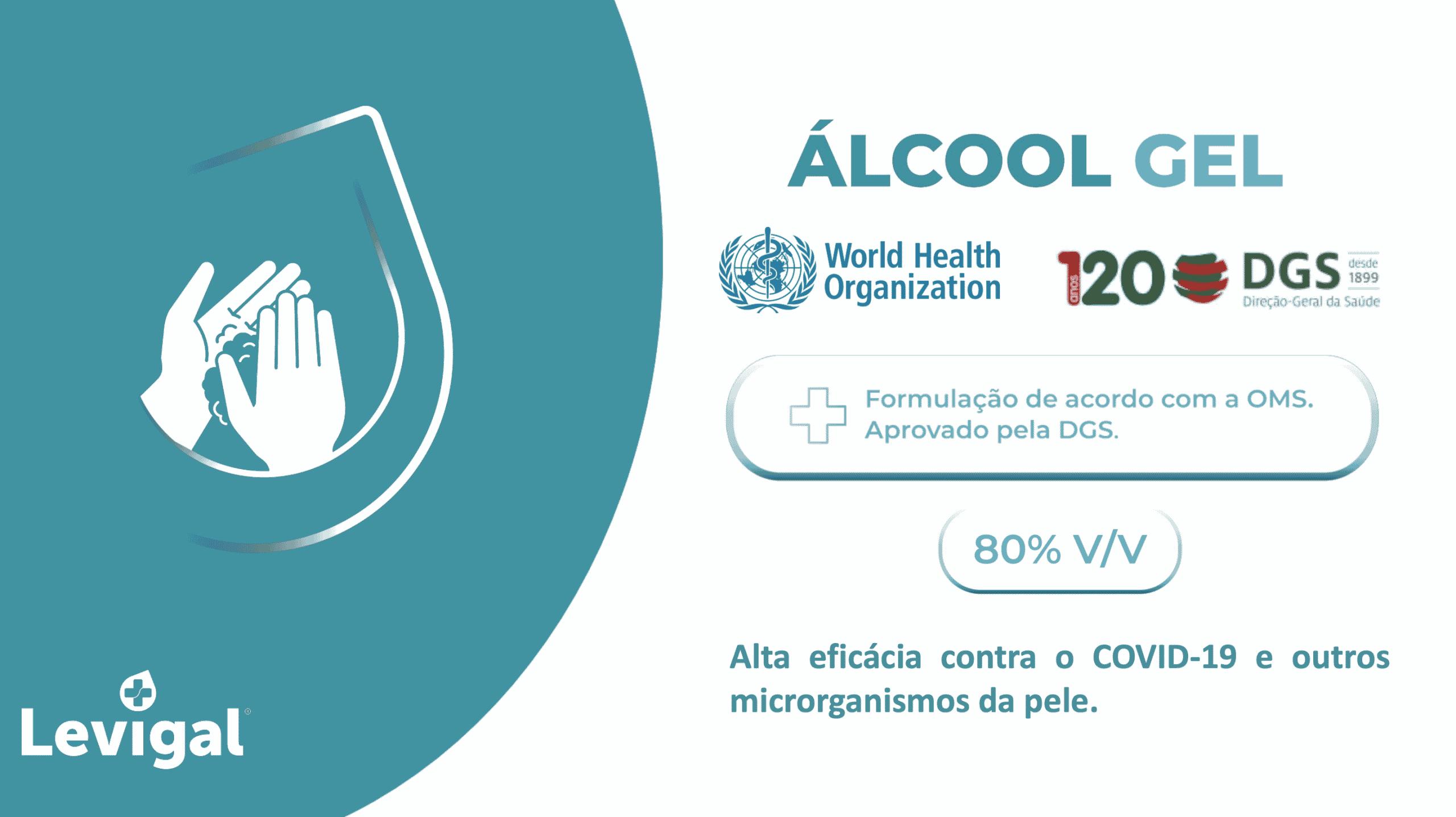 alcool gel certificado